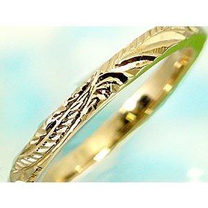 ペアリング 安い ハワイアンジュエリー 結婚指輪 ゴールド 18k イエローゴールドk18 マリッジリング シンプル 人気 プレゼント 女性 男性_画像2