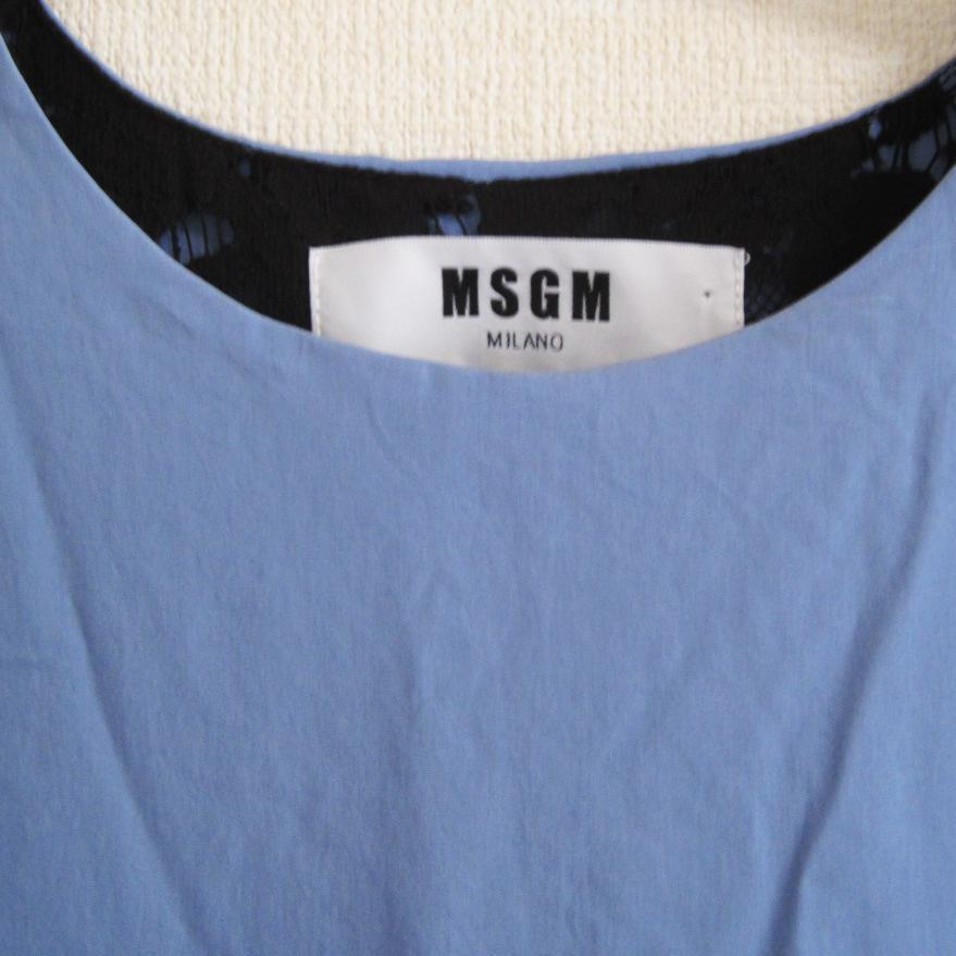 MSGM エムエスジイエム ブラウス 半袖カットソー フラワーレース  ズッカ ディーゼル BEAMS Tシャツ カットソー