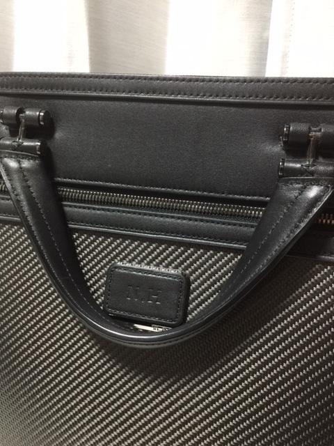 美品!TUMI ブリーフケース トゥミ バッグ CFX カーボンファイバー 本革 ビジネス 鞄 インディアナポリス スリム ブリーフケース_画像3