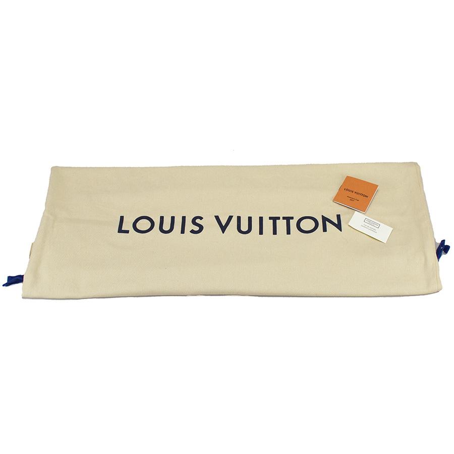 ルイヴィトン LOUIS VUITTON アポロ バックパック N44016 ダミエ アンフィニ レザー ブルー ネイビー 青 リュック アメリカズカップ 新同品_画像10