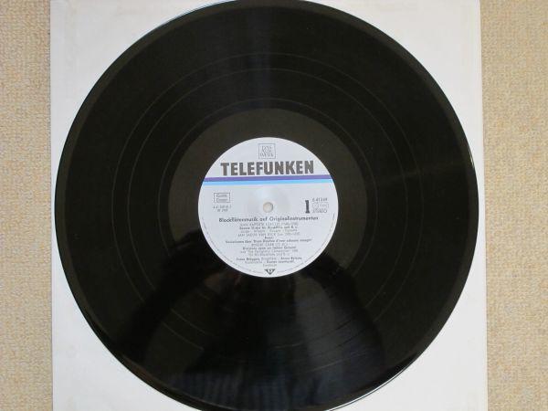 【長岡鉄男氏外盤A級セレクション No. 17】 独TELEFUNKEN 6.41249 オリジナル楽器によるブロックフレーテの音楽 <美盤>  _画像6