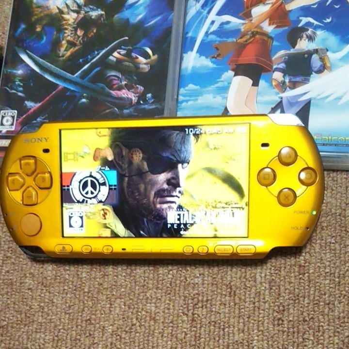 PSP-3000BY PSPソフト7本セット