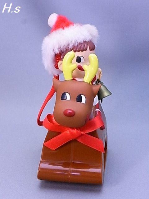 #34-3【不二家】ペコちゃん スィング トナカイ君 開封済み チョコレート無し_画像6