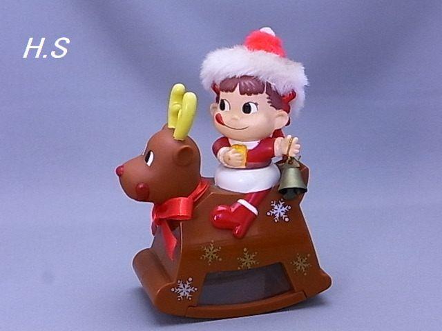 #34-3【不二家】ペコちゃん スィング トナカイ君 開封済み チョコレート無し_画像2