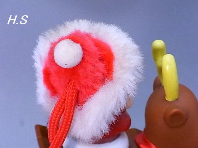 #34-3【不二家】ペコちゃん スィング トナカイ君 開封済み チョコレート無し_画像5