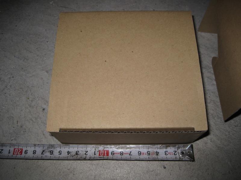 ダンボール箱 15×15×6 60サイズ 段ボール箱 5枚 折り畳み式 梱包用 発送用 小物用 宅急便 梱包資材 未使用品_画像3