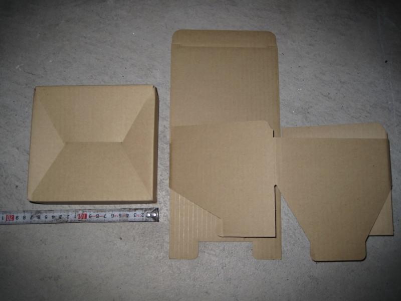 ダンボール箱 15×15×6 60サイズ 段ボール箱 5枚 折り畳み式 梱包用 発送用 小物用 宅急便 梱包資材 未使用品_画像4