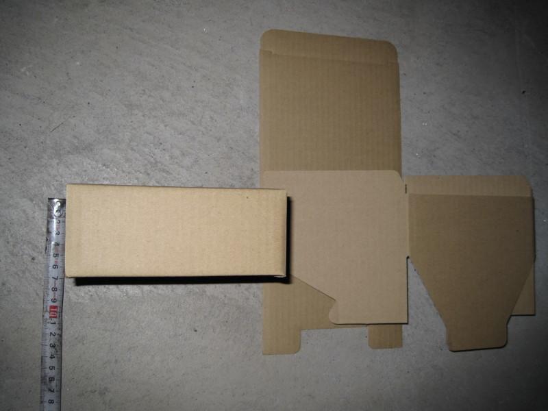ダンボール箱 15×15×6 60サイズ 段ボール箱 5枚 折り畳み式 梱包用 発送用 小物用 宅急便 梱包資材 未使用品_画像5