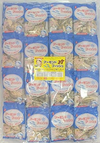 送料無料 小袋 アーモンドフィッシュ 100袋 お徳用パック 給食用 国産小魚_画像1