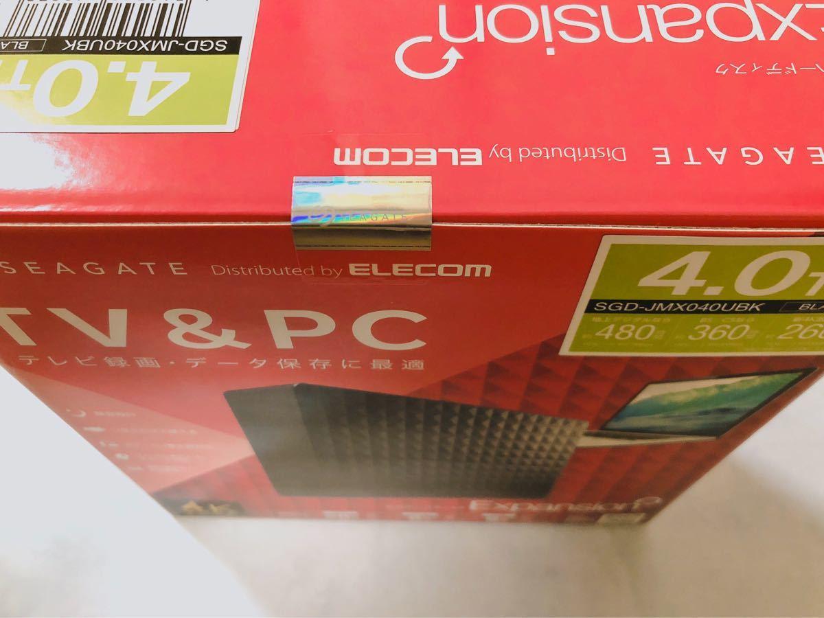 SGD-JMX040UBK  USB3.1 USB3.0 外付HDD 4.0TB