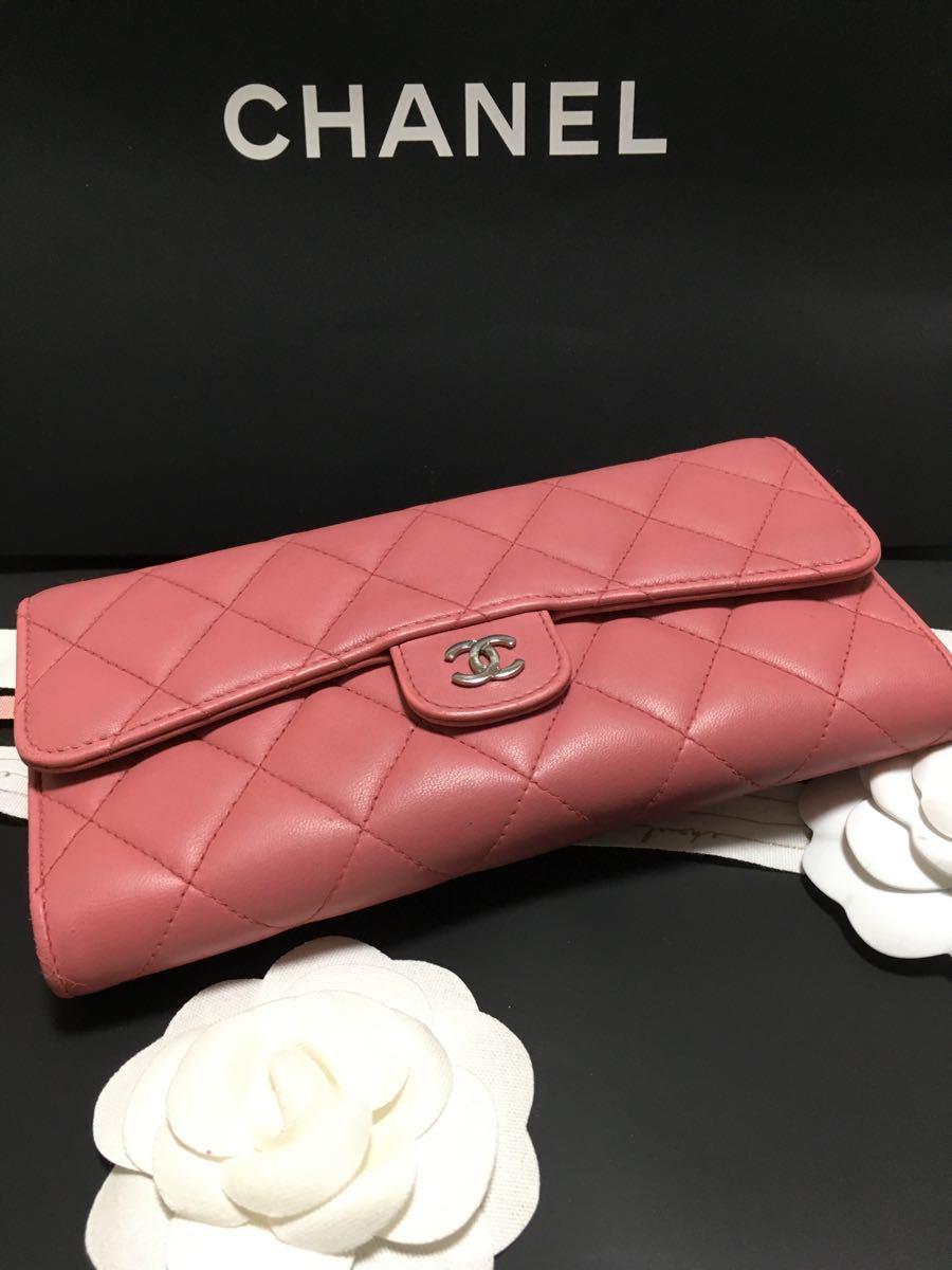 yu様専用 美品 シャネル マトラッセ 長財布 22番台 正規品