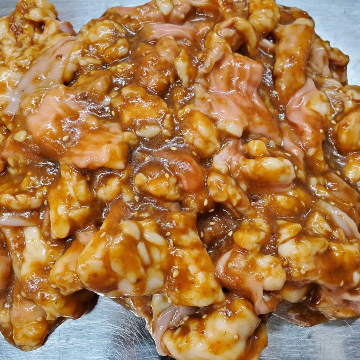 国産和牛ホルモン 小腸 味付け焼肉用 900g 新鮮! ぷりぷり! 旨味たっぷり! 【牛ホルモン】 焼肉_画像2