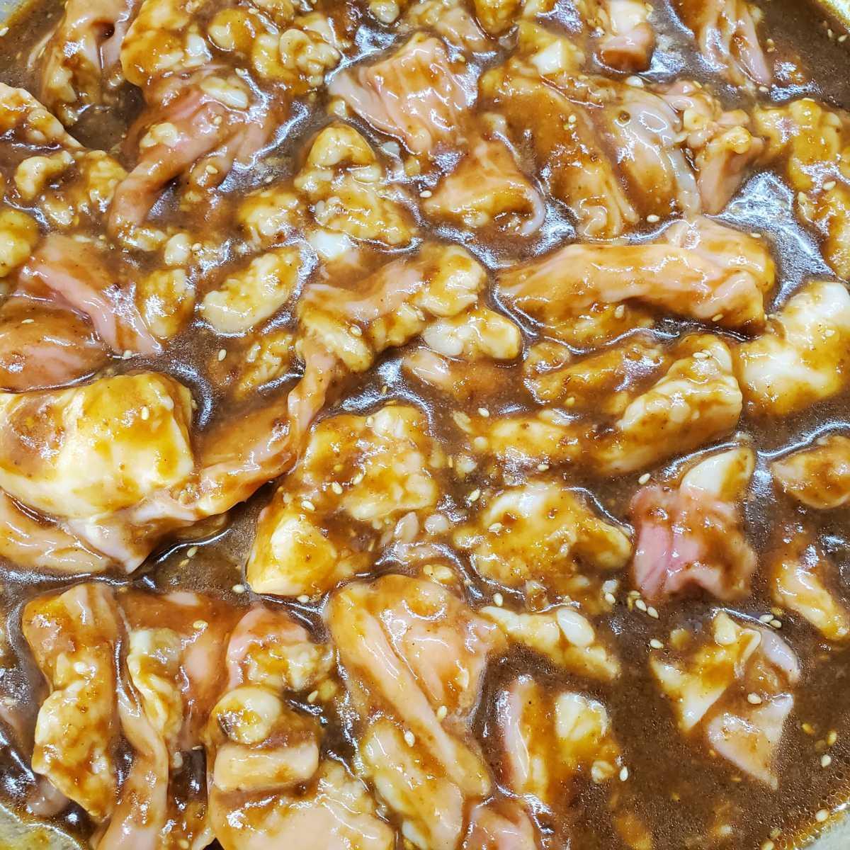 国産和牛ホルモン 小腸 味付け焼肉用 900g 新鮮! ぷりぷり! 旨味たっぷり! 【牛ホルモン】 焼肉_画像1