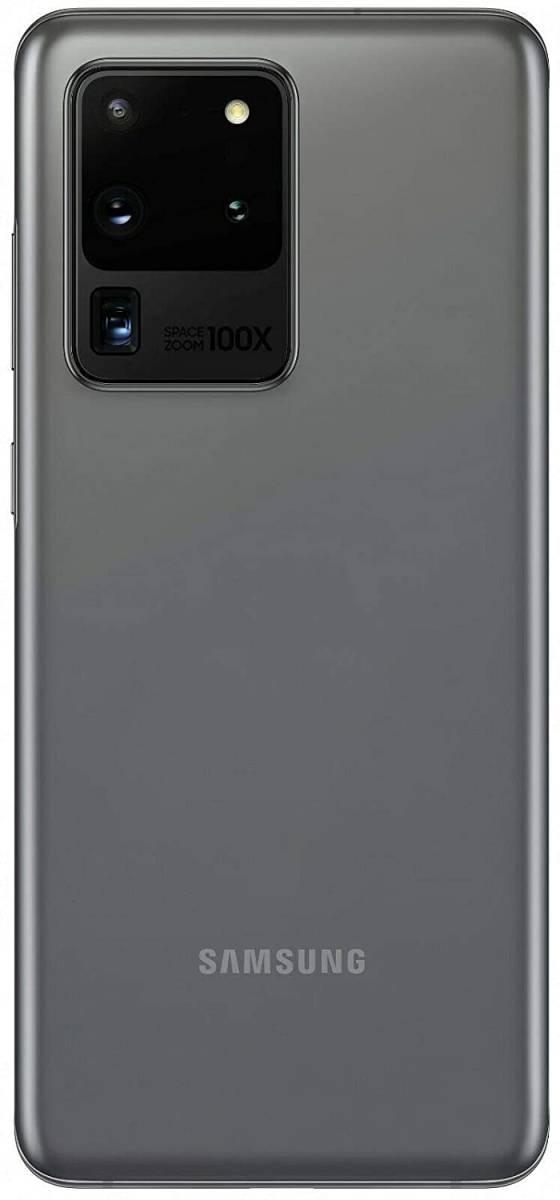 Samsung Galaxy S20 Ultra 5G (12+256GB) Dual SIM デュアルSIM 新品未開封☆ 色:グレー 海外版 _画像2