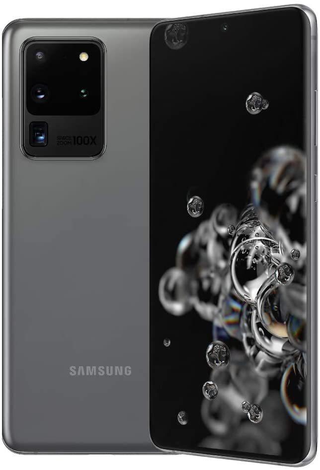 Samsung Galaxy S20 Ultra 5G (12+256GB) Dual SIM デュアルSIM 新品未開封☆ 色:グレー 海外版 _画像1