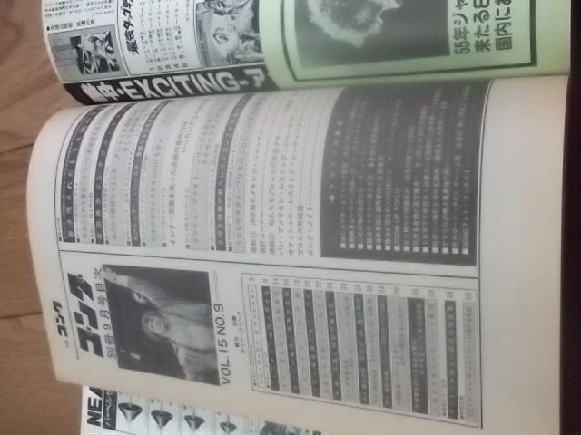 日本スポーツ。別冊ゴング1983年9月号。マスカラス。馬場。プロレス。アリ。猪木_画像5