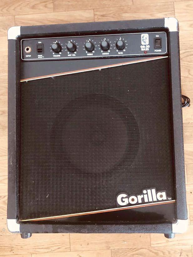 中古★現状品 ギターアンプ Gorilla/ゴリラ/ベースアンプ/GB-30_画像6