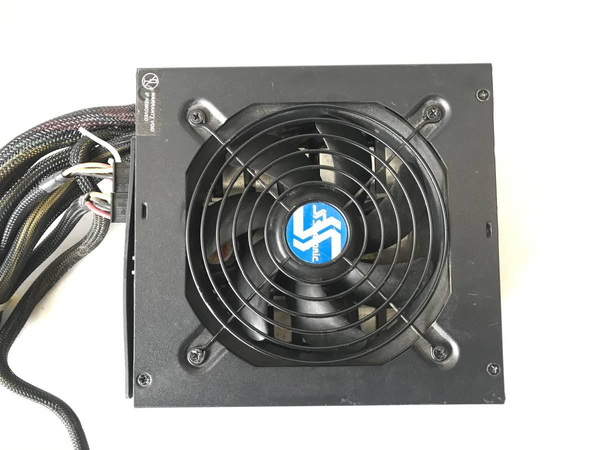 【中古パーツ】SSEASONIC SS-750EM Active PFC F3 750W 電源ユニット 電源BOX 80PLUS SILVER ■DY69_画像1