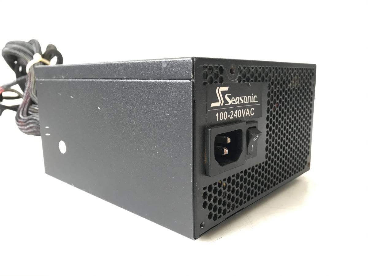 【中古パーツ】SSEASONIC SS-750EM Active PFC F3 750W 電源ユニット 電源BOX 80PLUS SILVER ■DY69_画像3