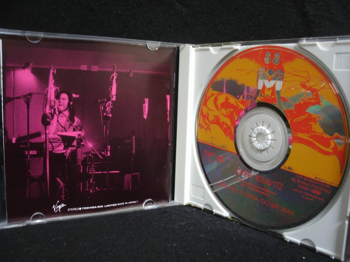 【中古CD】LENNY KRAVITZ / ARE YOU GONNA GO MY WAY / レニー・クラヴィッツ / 自由への疾走_画像3