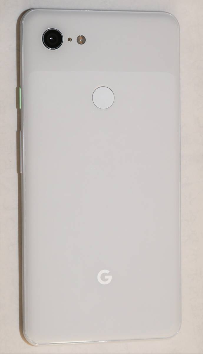 Google Pixel 3 XL 6.3インチ 128GB Clearly White Model G013D docomo シムロック解除済み 中古美品 即決 送料込_画像2