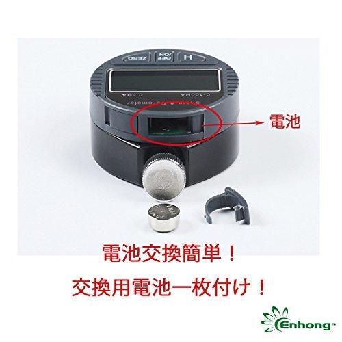 色A型 Enhong デジタル硬度計 ゴム ガラス プラスチック 革 硬さ デジタルゲージ 測定工具 A型 C型 D型 通販 【ス_画像7