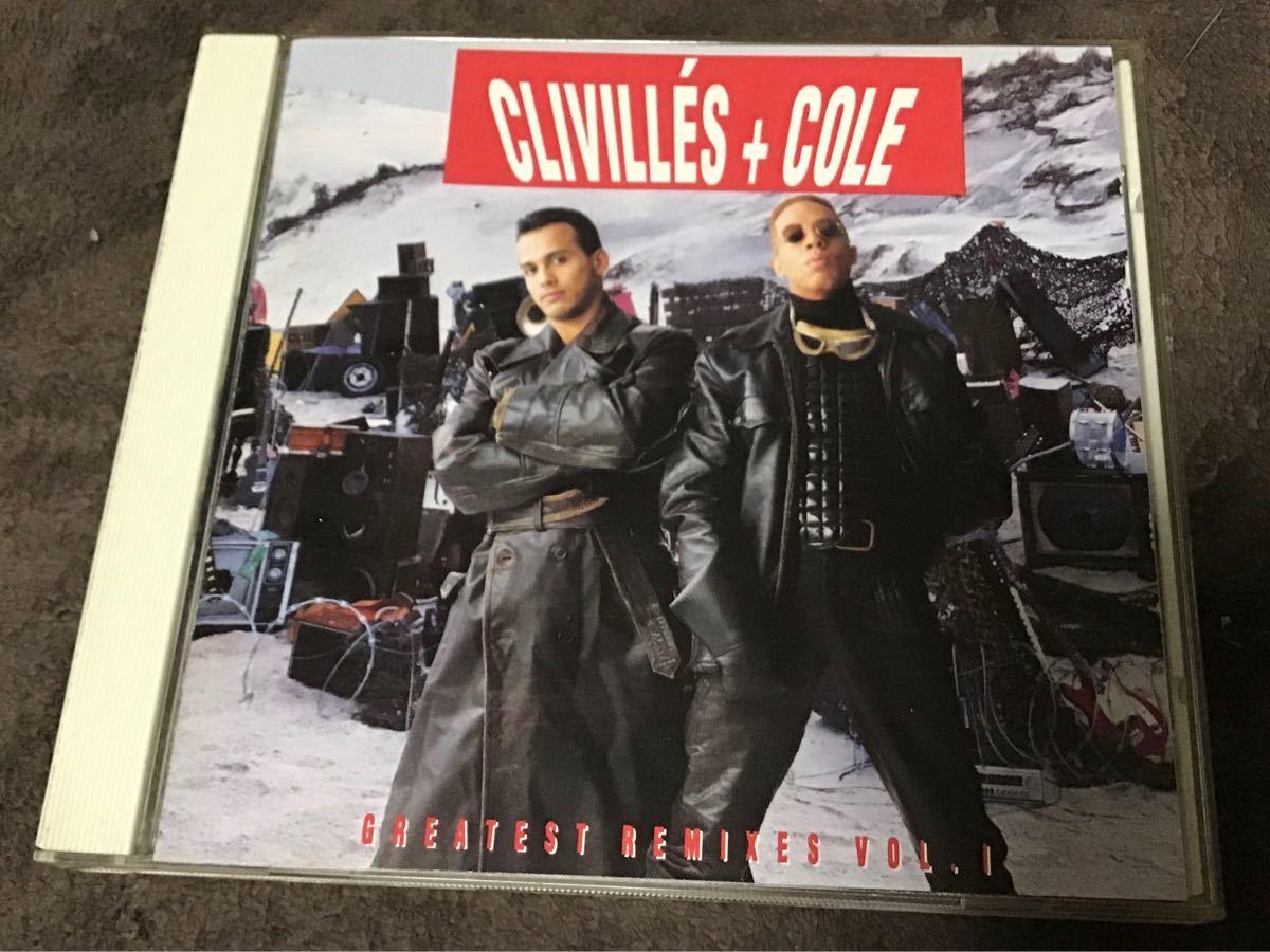 国内盤CDクライヴィルズ&コール Clivilles & Cole  C+C