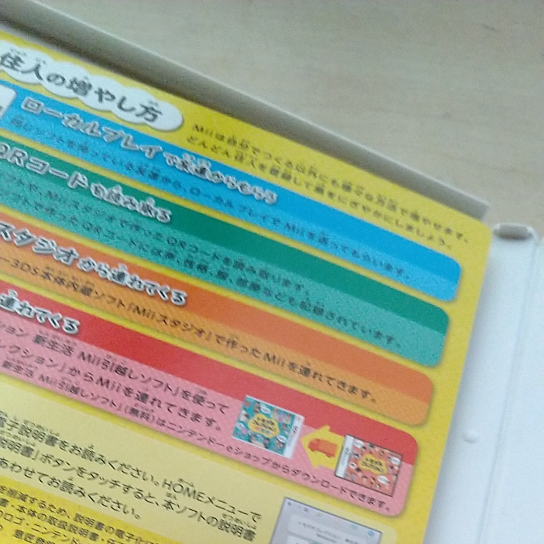 ニンテンドー3DSソフトトモダチコレクション