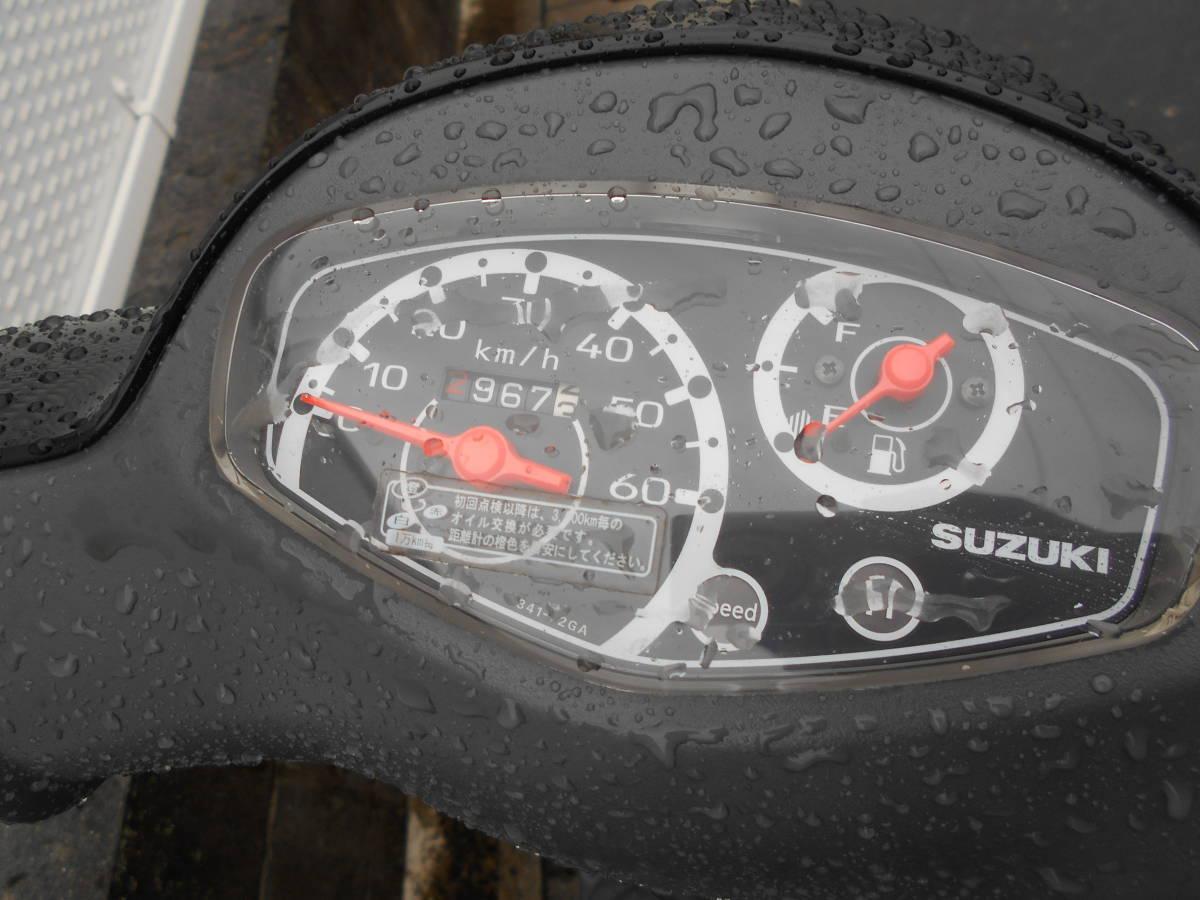 「スズキ インジェクション レッツ4 中古車 趣味のバイク マニア館 モレラギフ付近 株式会社ギフトップトレ-ディングカンパニ-」の画像3