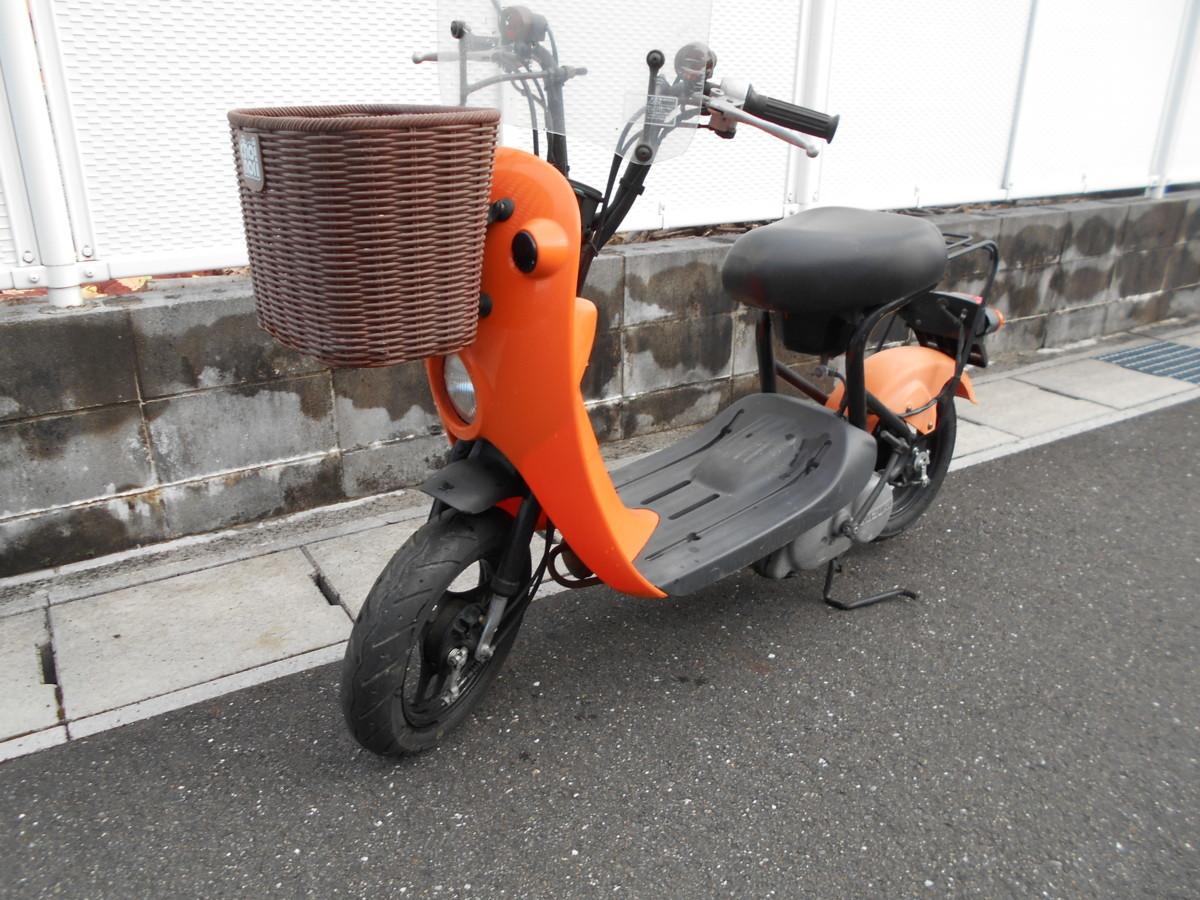 「絶版廃盤スズキ チョイノリCZ41A(オレンジ)趣味のバイクマニア館株式会社ギフトップトレ-ディングカンパニ-」の画像1