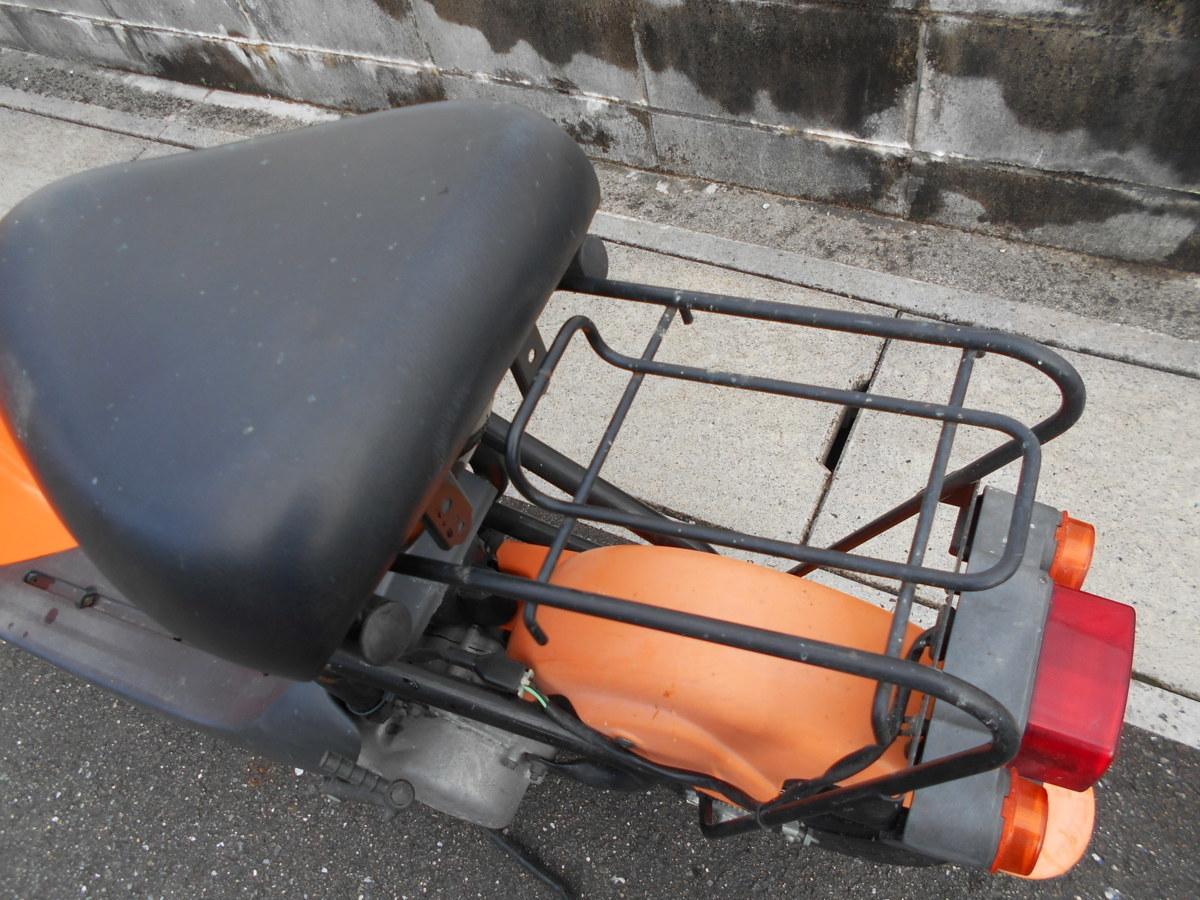 「絶版廃盤スズキ チョイノリCZ41A(オレンジ)趣味のバイクマニア館株式会社ギフトップトレ-ディングカンパニ-」の画像3