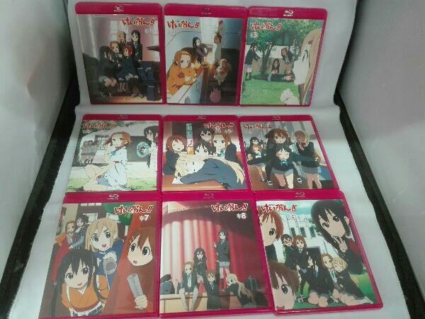 【※※※】[全9巻セット]けいおん!! 1~9(初回限定生産)(Blu-ray Disc)_画像3