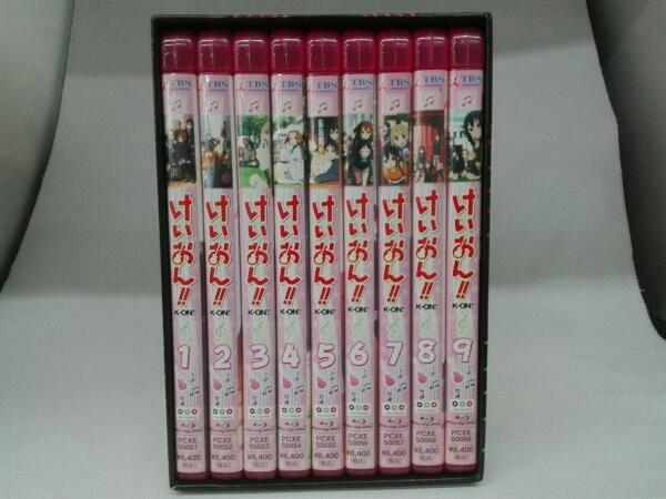 【※※※】[全9巻セット]けいおん!! 1~9(初回限定生産)(Blu-ray Disc)_画像1