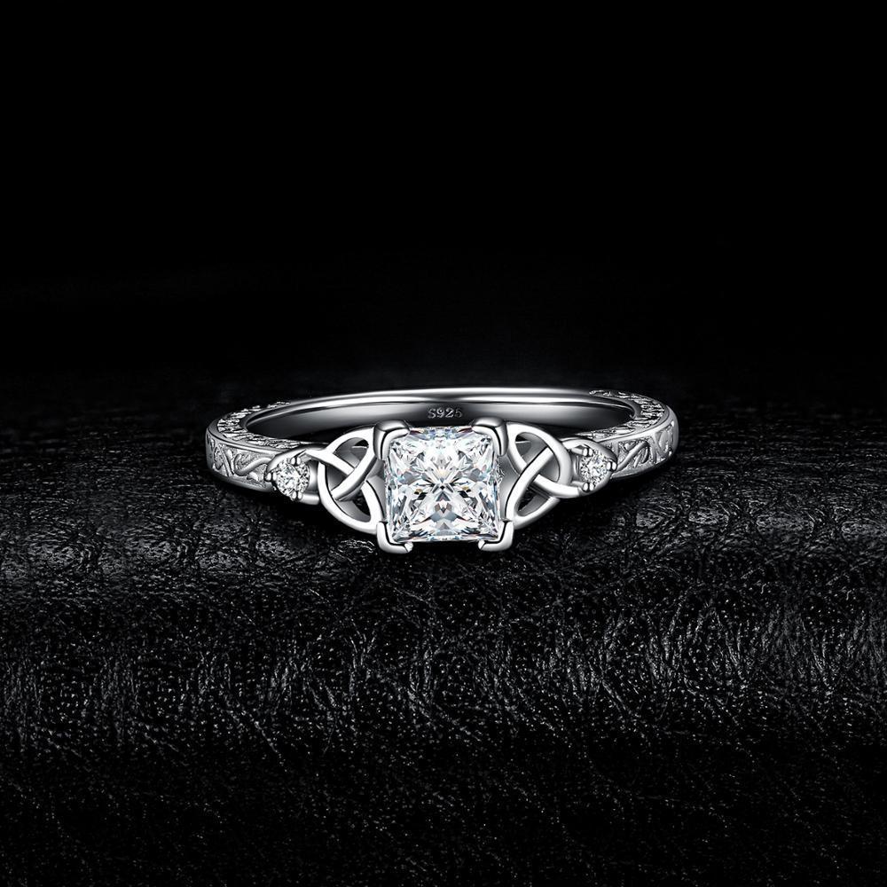 【★★新品★★】Jpalaceケルトノット王女cz婚約指輪 925スターリングシルバーリング _画像2
