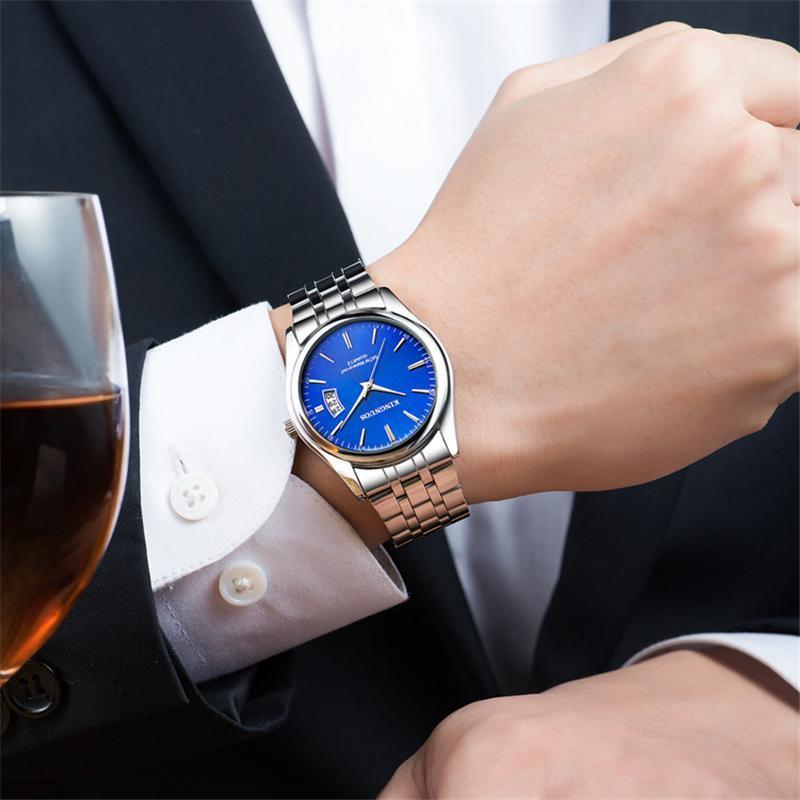 2020 トップブランドの高級メンズ腕時計 30 メートル防水日付時計男性スポーツ腕時計男性クォーツカジュアル腕時計レロジオ masculino_画像6