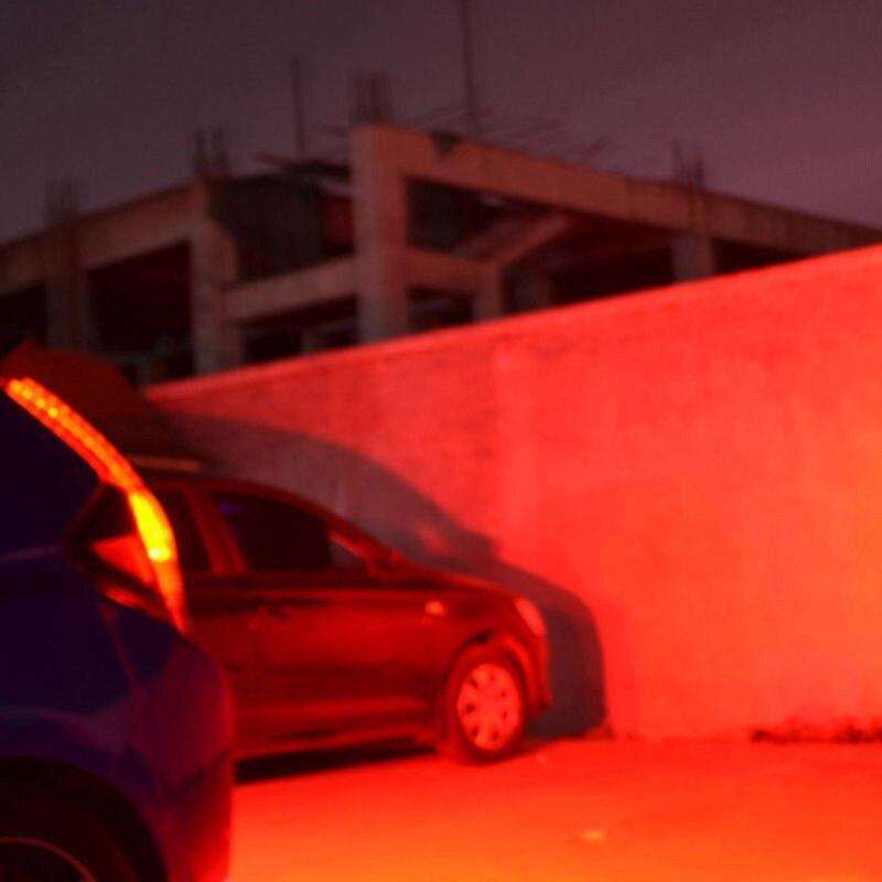 30LEDユニバーサル車のナンバープレートのバックアップ逆ブレーキライトランプバー赤 + 白スーパーライト新_画像4