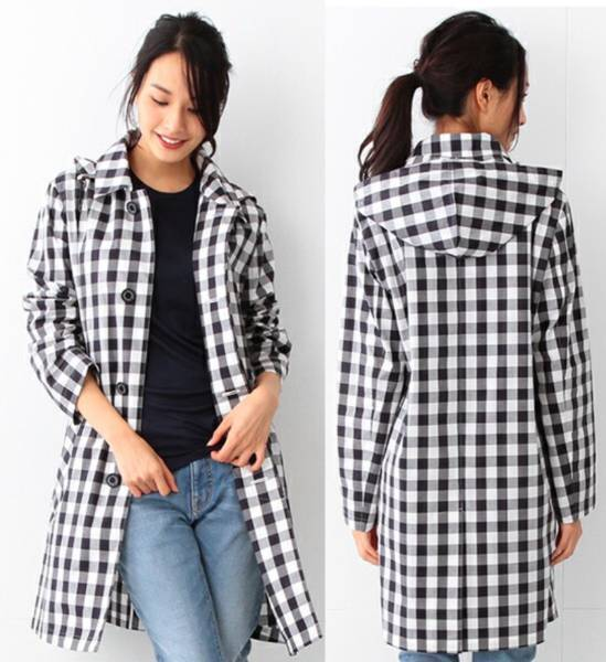 BEAMS 別注 Traditional Weatherwear ステンカラー コート 32 SELBY HOOD コラボ 限定 トラディショナル ウェザーウェア