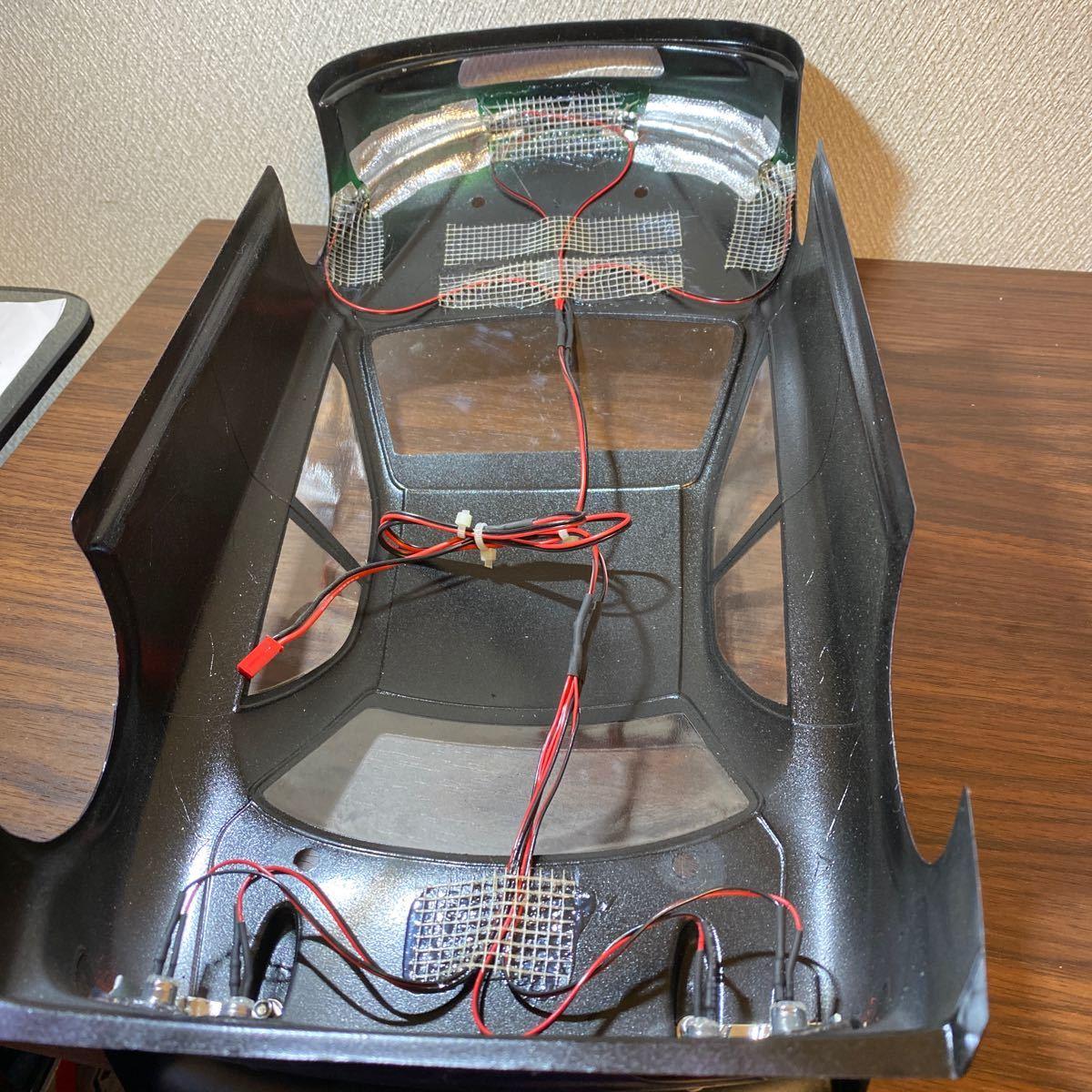 ツーリングカーボディ 電飾8灯