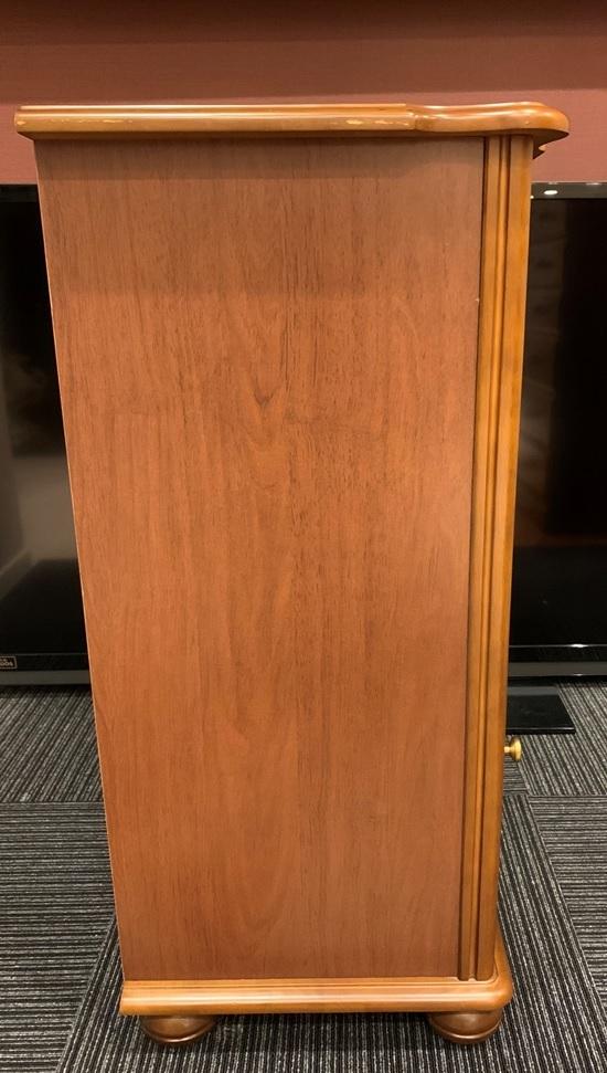 レトロ 木製 電話台 収納棚 飾り棚 引き出し 整理棚 小物入れ インテリア アンティーク 家具 _画像9