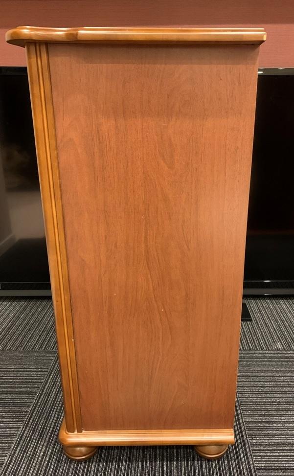 レトロ 木製 電話台 収納棚 飾り棚 引き出し 整理棚 小物入れ インテリア アンティーク 家具 _画像7