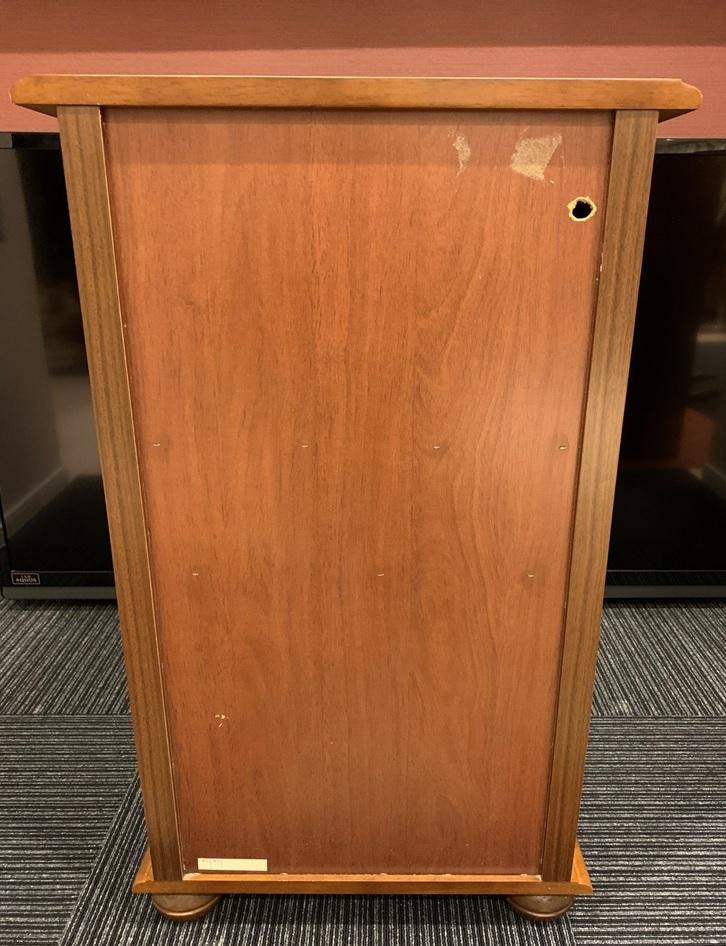 レトロ 木製 電話台 収納棚 飾り棚 引き出し 整理棚 小物入れ インテリア アンティーク 家具 _画像8
