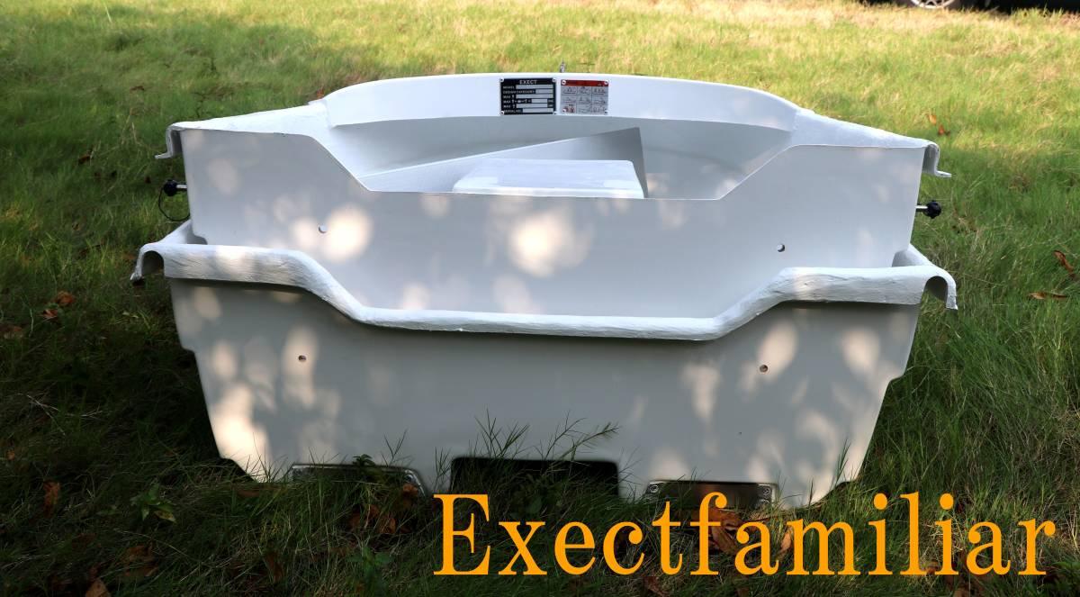 「EX250IKESU フジテレビ出演`純烈丸`レプリカ生簀仕様 到着したらすぐに漕ぎ出せる2分割FRPボートSET」の画像2