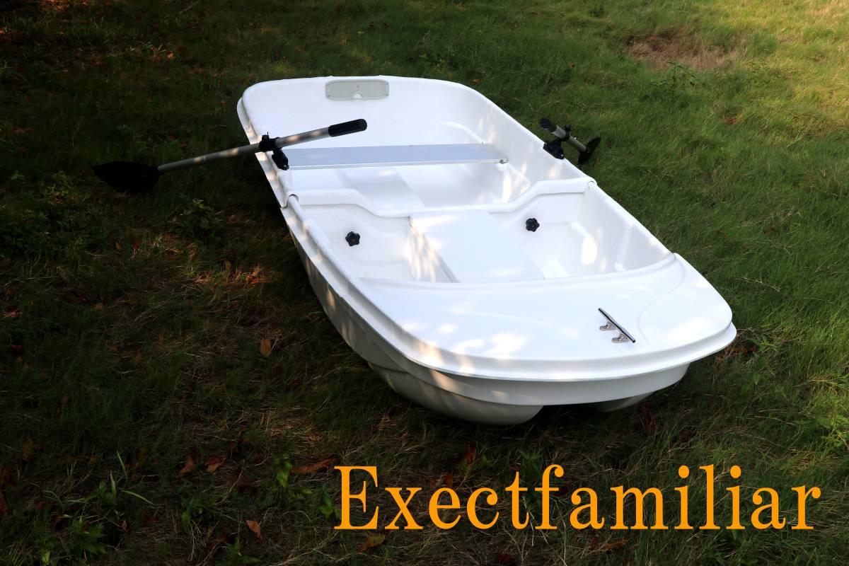 「EX250IKESU フジテレビ出演`純烈丸`レプリカ生簀仕様 到着したらすぐに漕ぎ出せる2分割FRPボートSET」の画像3