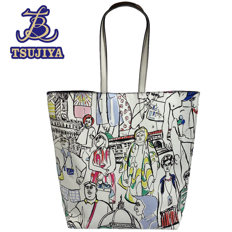 Emilio Pucci Tote Bag Turisti 61BC51 Multicolore Occasion AB [Tsujiya Quality Store B0493] E & Emilio Pucci & Sac, Sac
