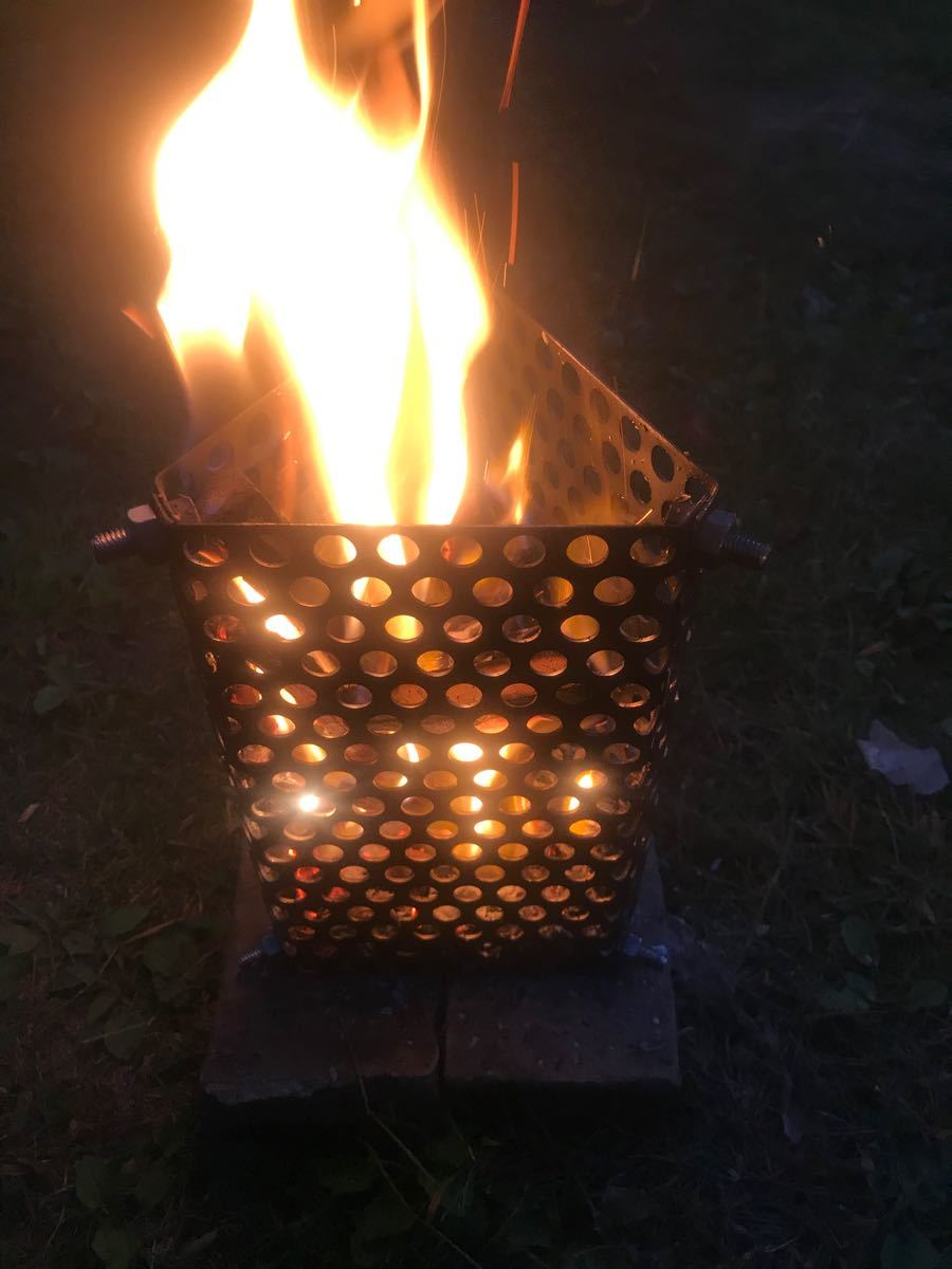 焚き火台 キャンプギア 無骨仕様