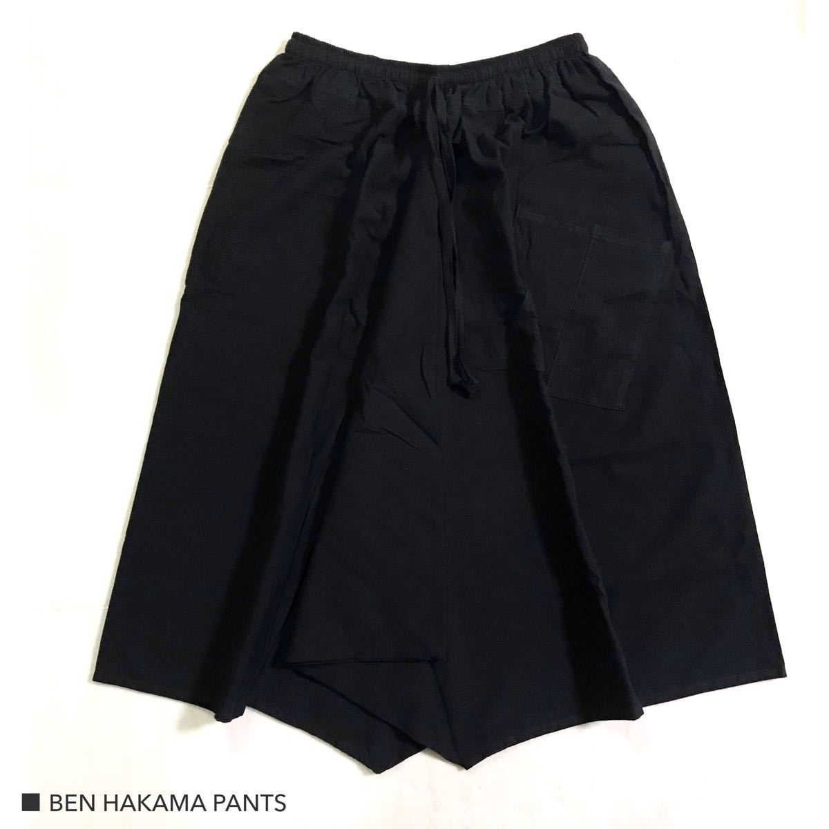 ブラック 袴パンツ サルエル ワイドパンツ ガウチョパンツ ショートパンツ