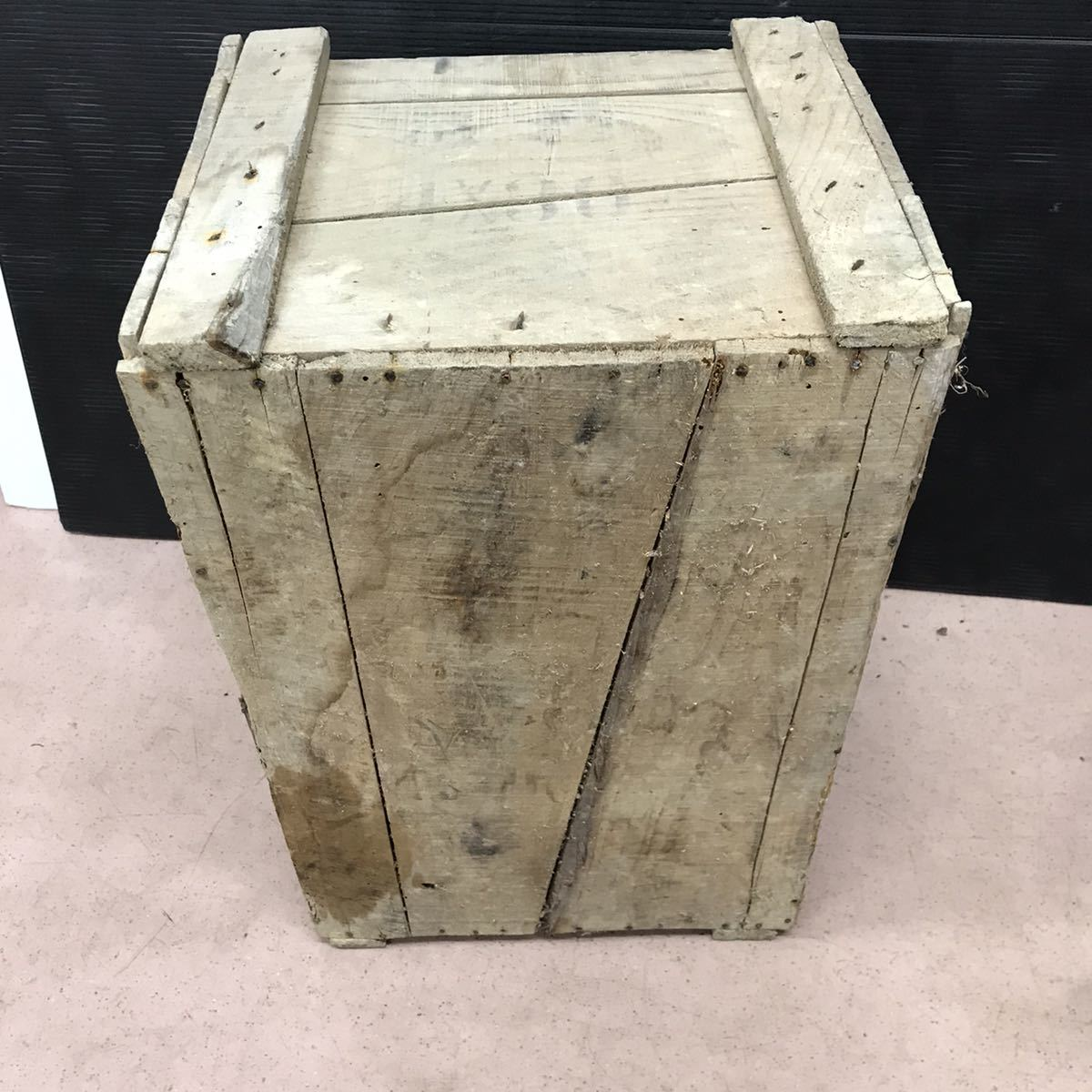 昭和レトロ 木箱 アンティーク ビンテージ ディスプレイ 古民家 ②_画像6
