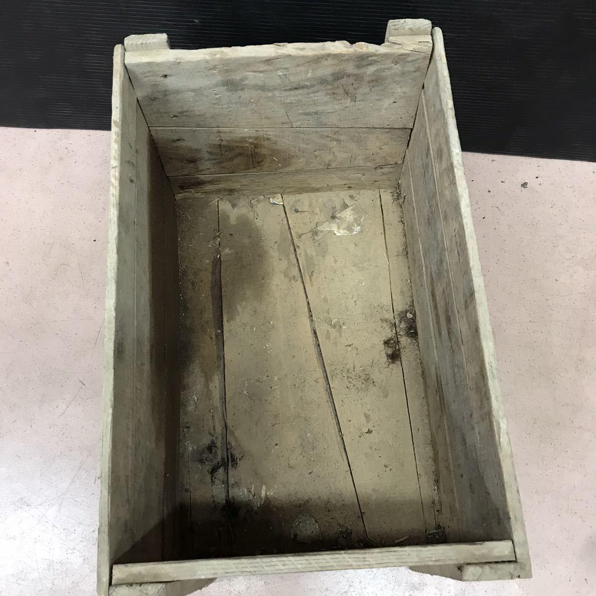 昭和レトロ 木箱 アンティーク ビンテージ ディスプレイ 古民家 ②_画像5