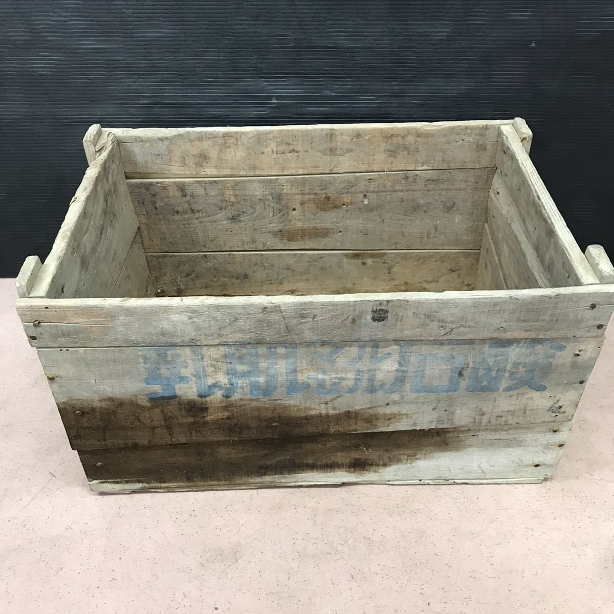 昭和レトロ 木箱 アンティーク ビンテージ ディスプレイ 古民家 ②_画像3