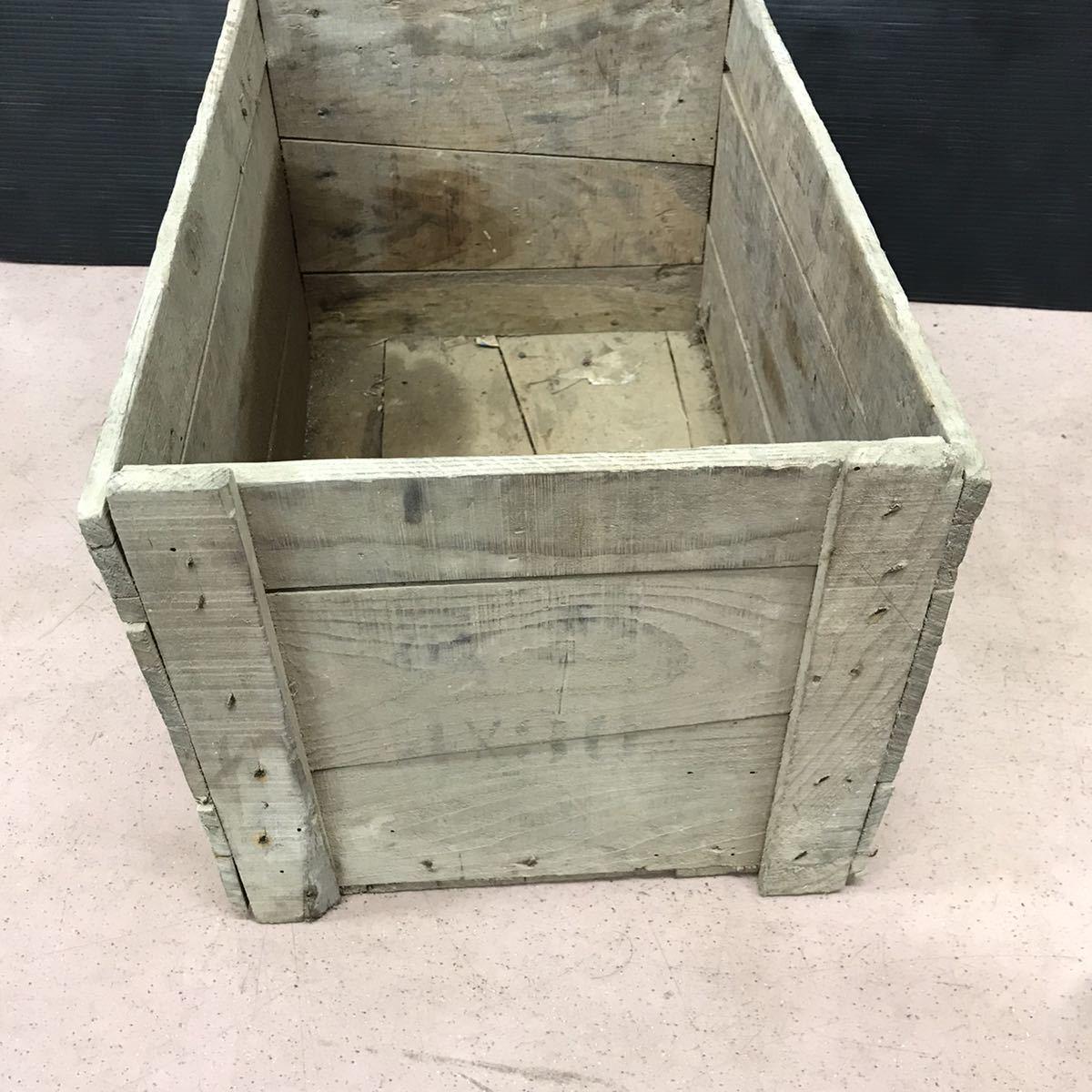 昭和レトロ 木箱 アンティーク ビンテージ ディスプレイ 古民家 ②_画像4